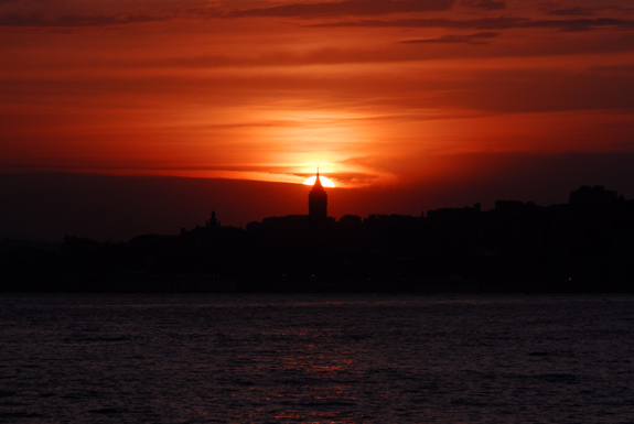 GALATA DA GÜN BATIMI / GALATA IN SUNSET 2007